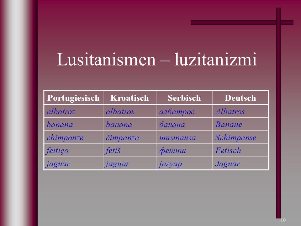 Lusitanismen – luzitanizmi