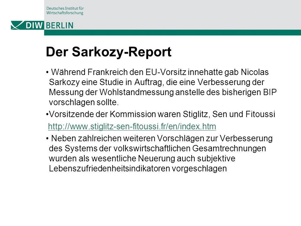 Der Sarkozy-Report