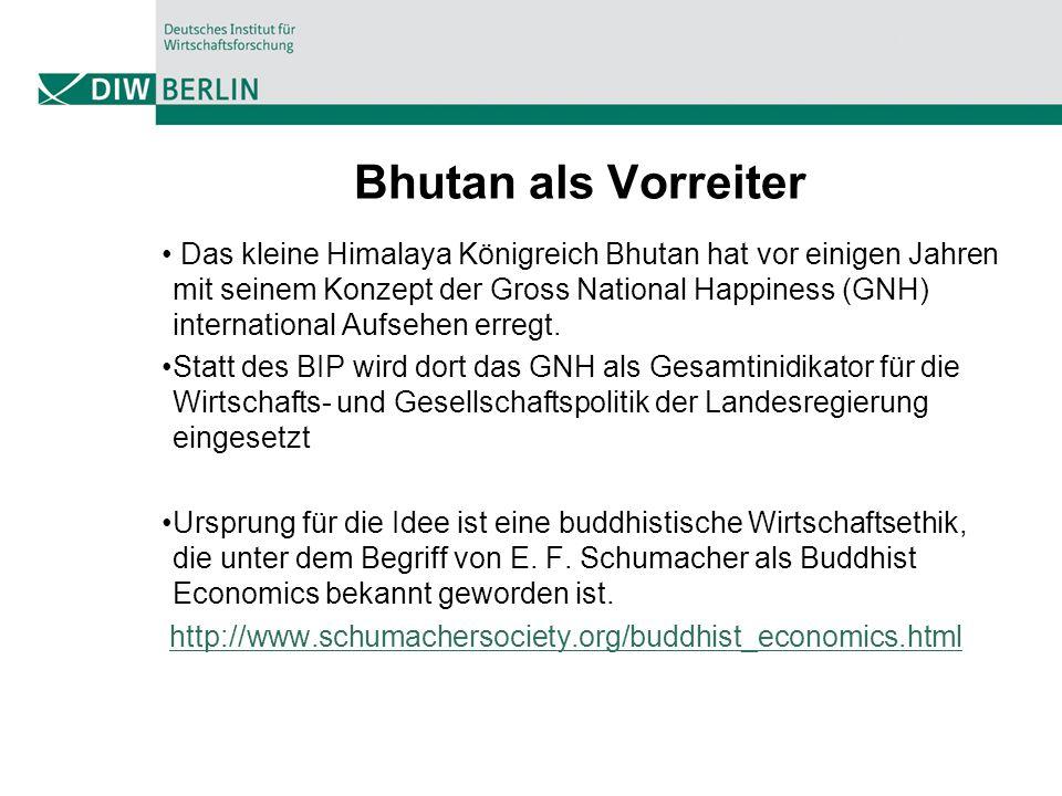 Bhutan als Vorreiter