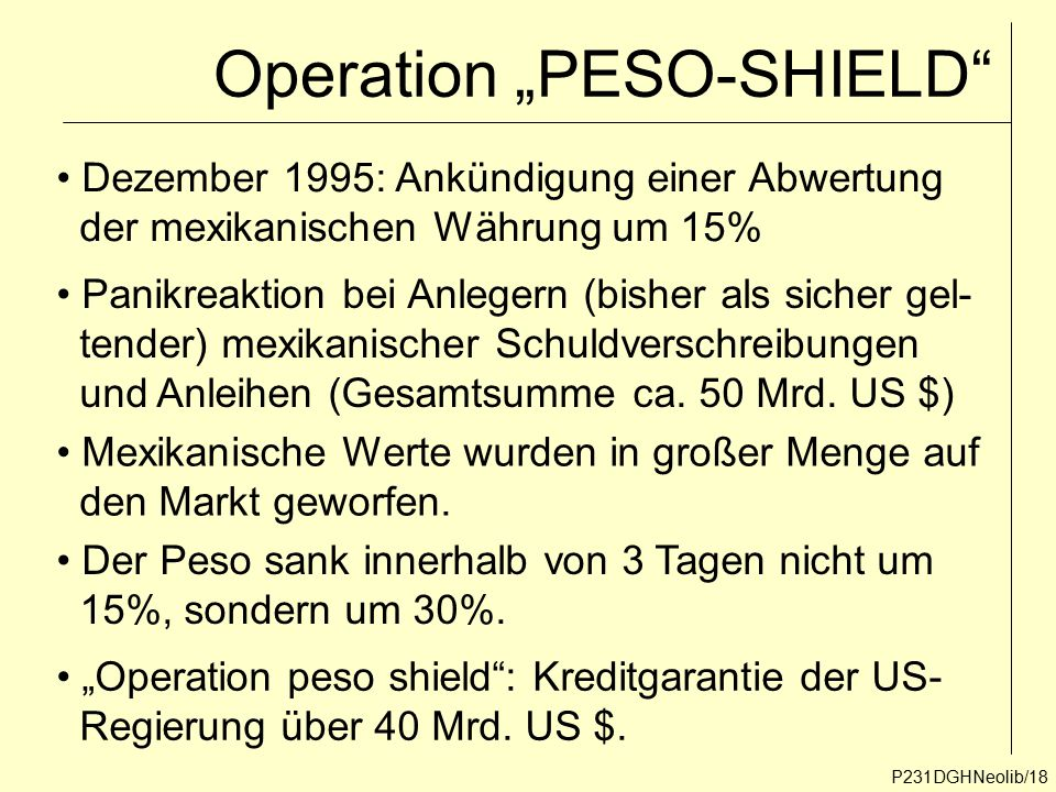 "Operation ""PESO-SHIELD"