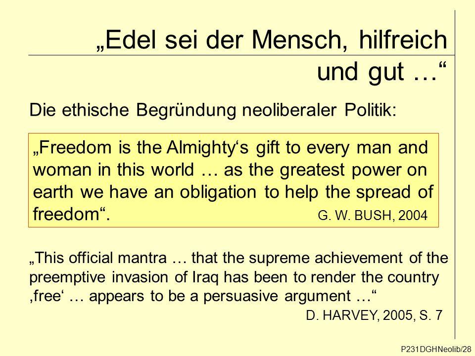 """""""Edel sei der Mensch, hilfreich und gut …"""
