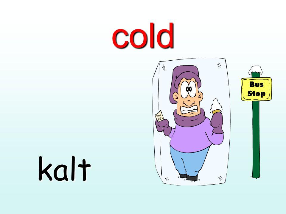 cold kalt