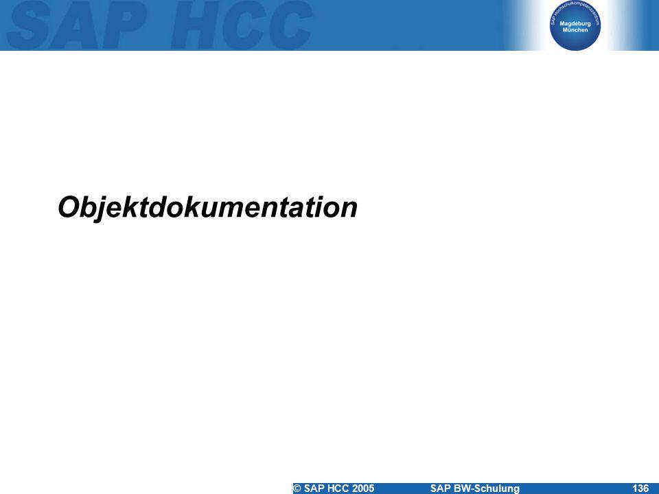 Objektdokumentation