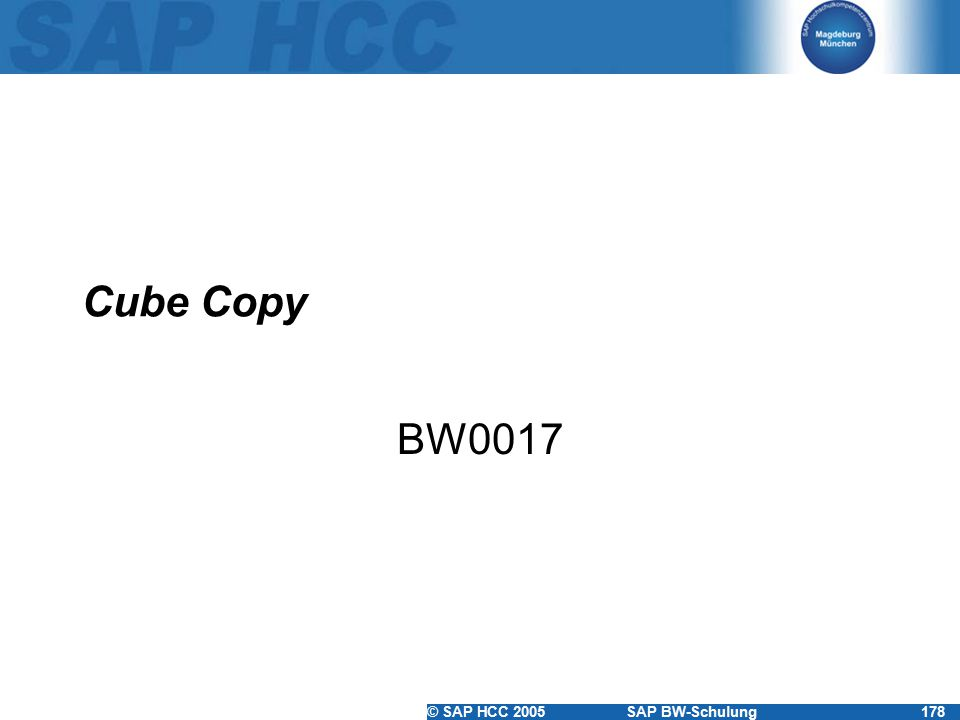 Cube Copy BW0017
