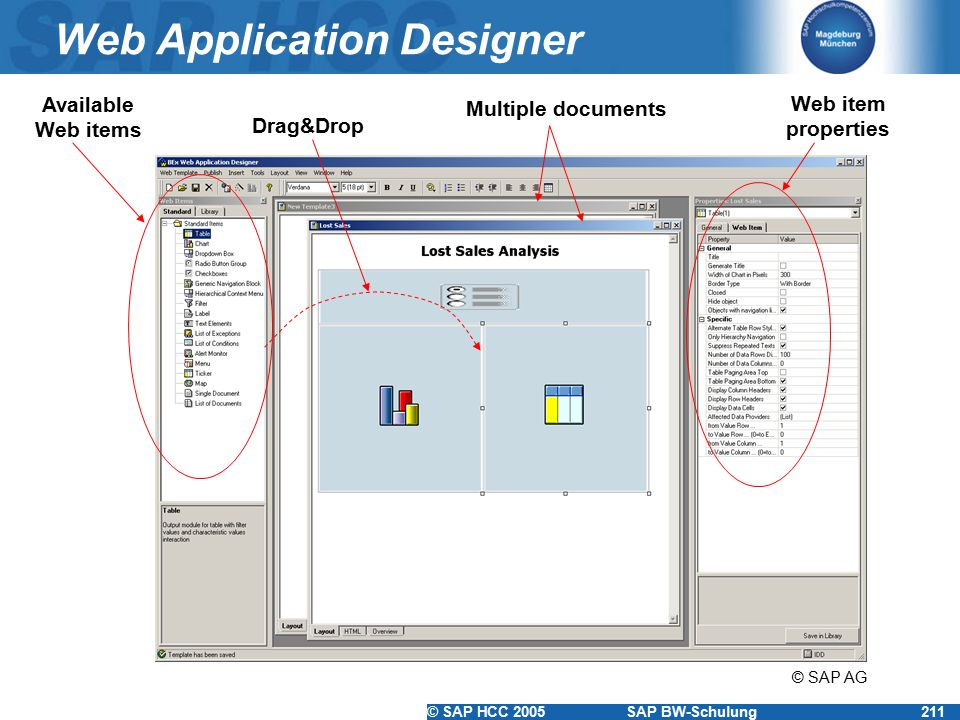 Web Application Designer