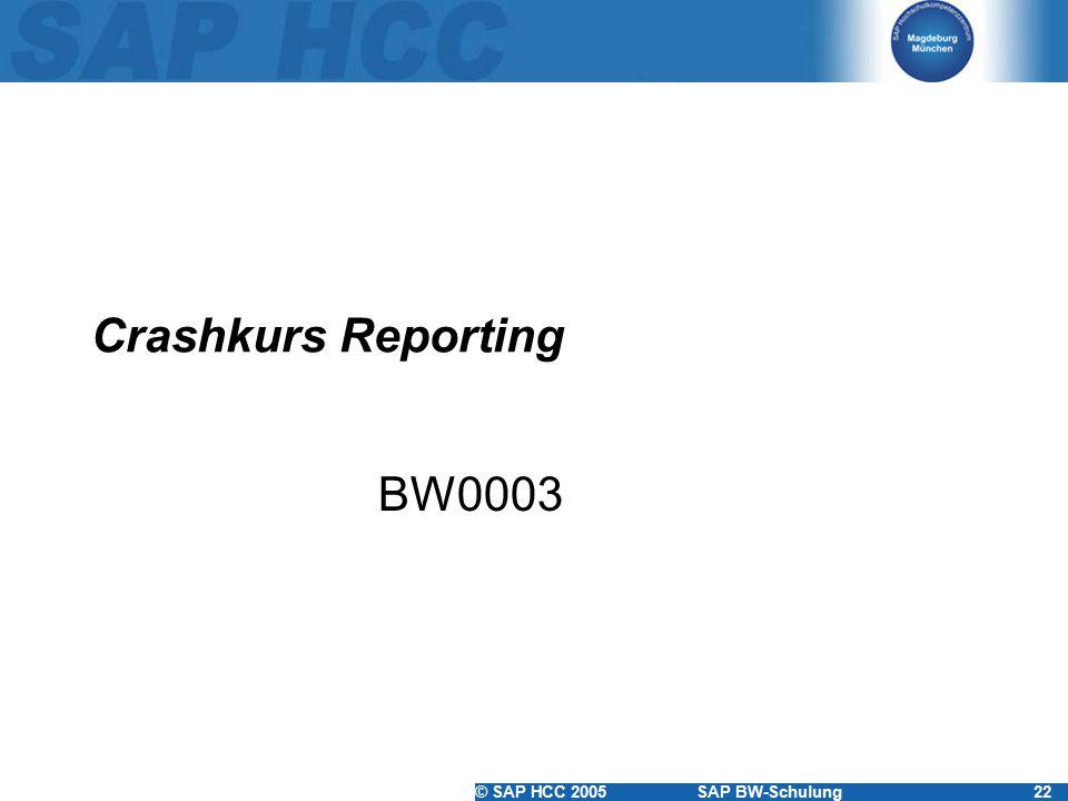 Crashkurs Reporting BW0003