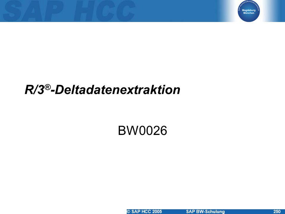 R/3®-Deltadatenextraktion