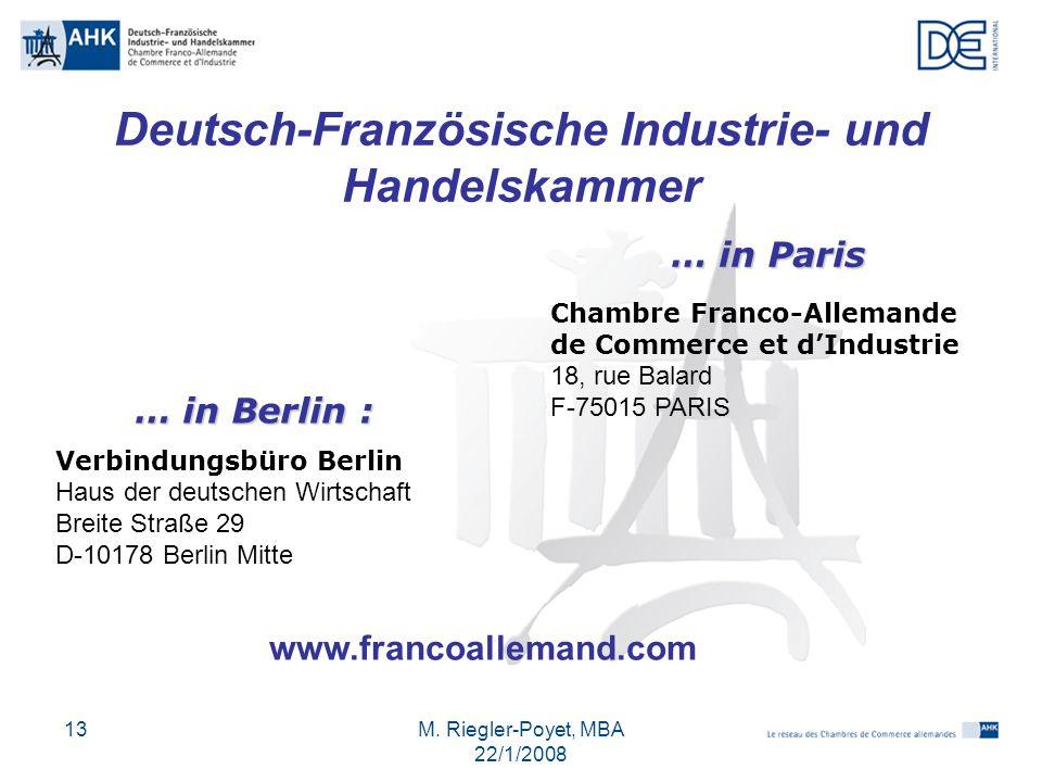 Deutsch-Französische Industrie- und Handelskammer