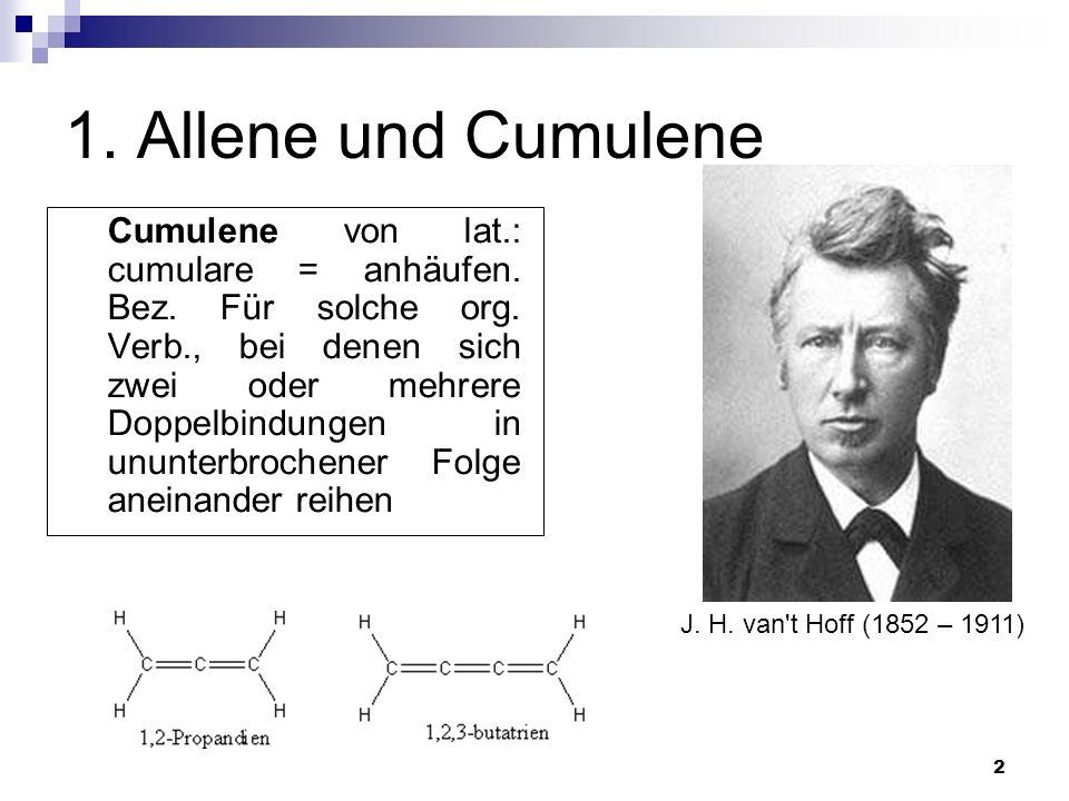 1. Allene und Cumulene