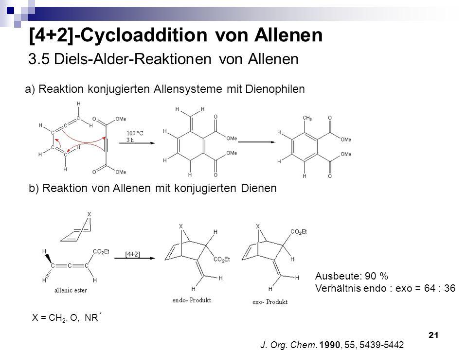 3.5 Diels-Alder-Reaktionen von Allenen