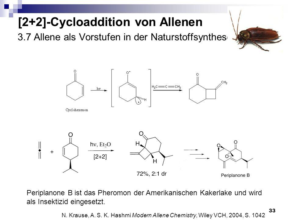 3.7 Allene als Vorstufen in der Naturstoffsynthese