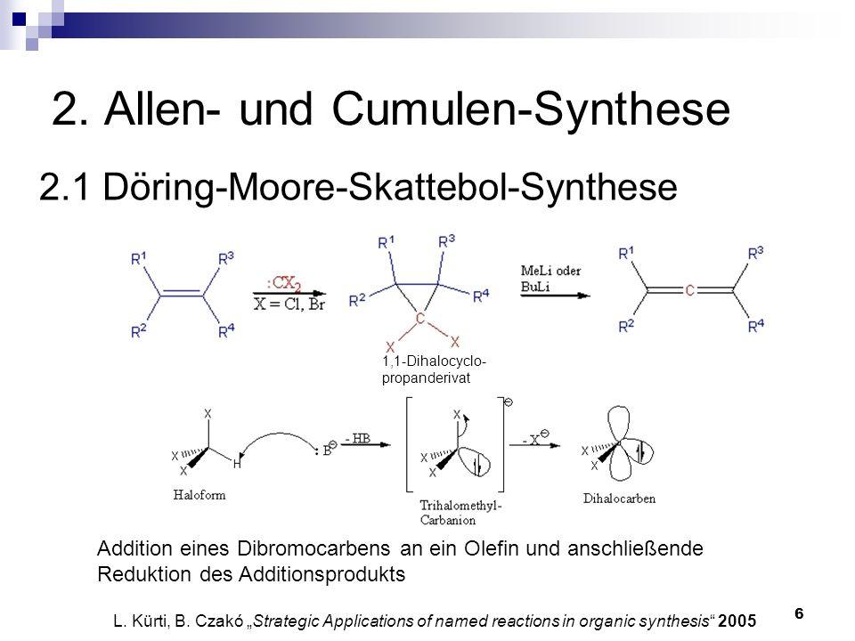2. Allen- und Cumulen-Synthese