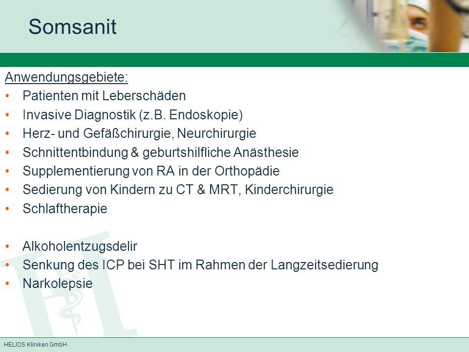 Somsanit Anwendungsgebiete: Patienten mit Leberschäden