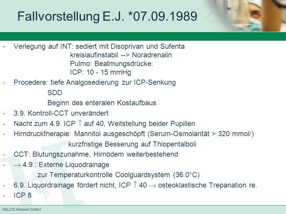 Fallvorstellung E.J. *07.09.1989