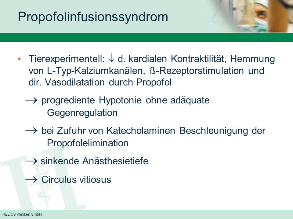 Propofolinfusionssyndrom