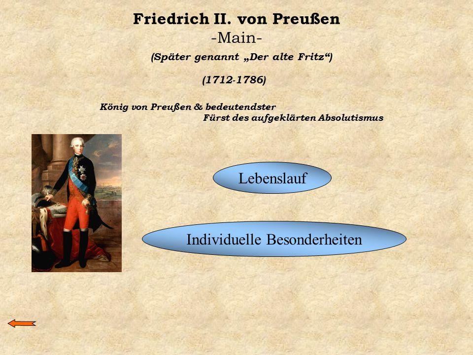 Friedrich II. von Preußen -Main-