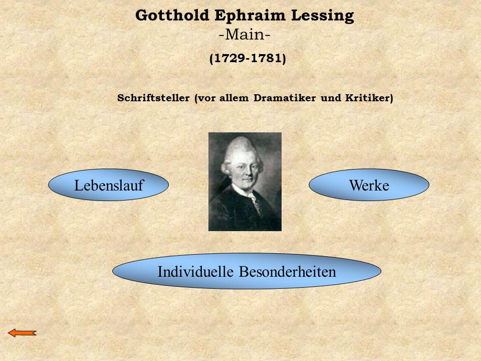 Gotthold Ephraim Lessing -Main-