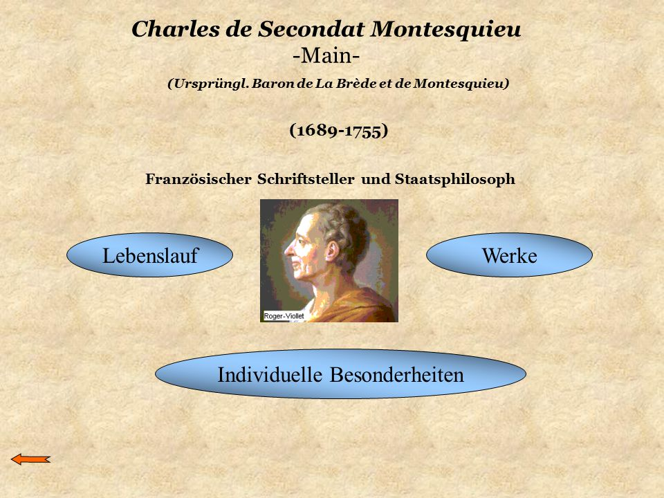 Charles de Secondat Montesquieu -Main-