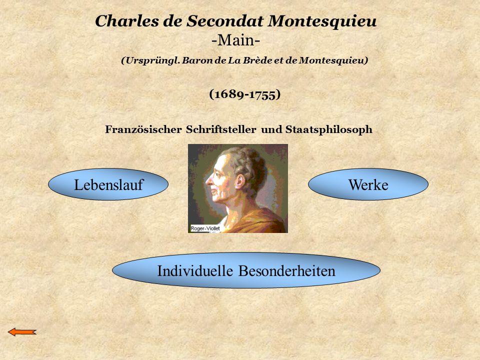 Charles de Secondat Montesquieu -Main-