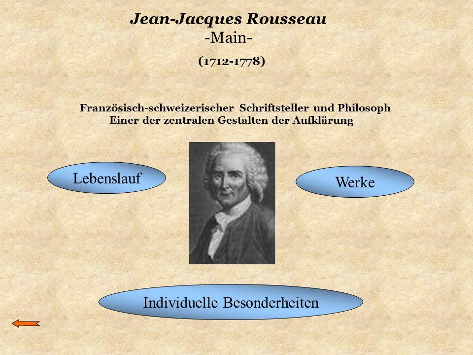 Jean-Jacques Rousseau -Main-