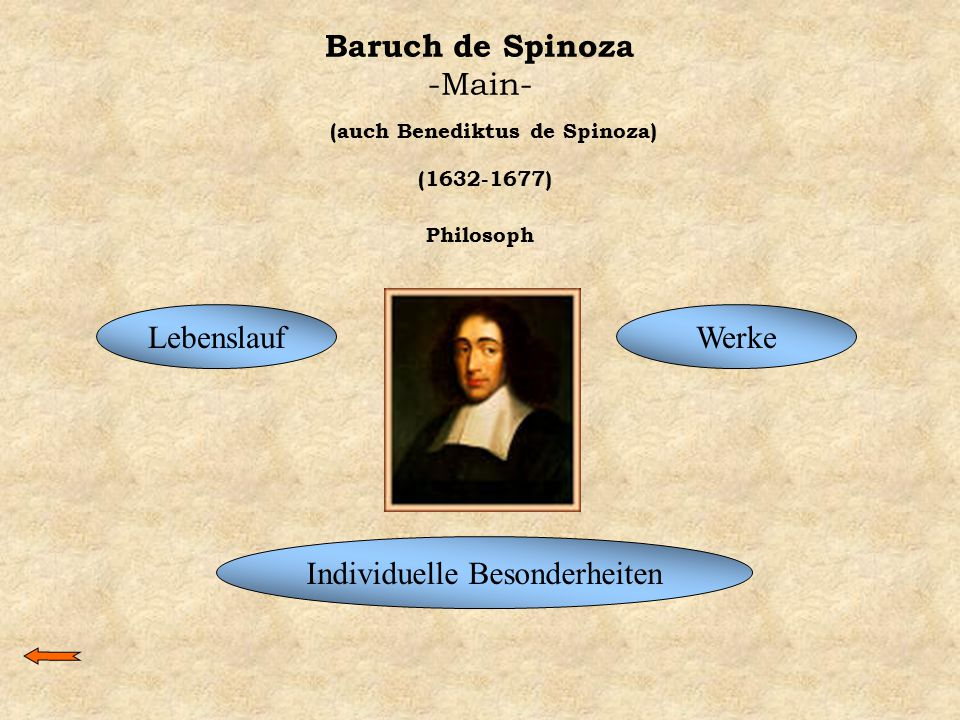 Baruch de Spinoza -Main-