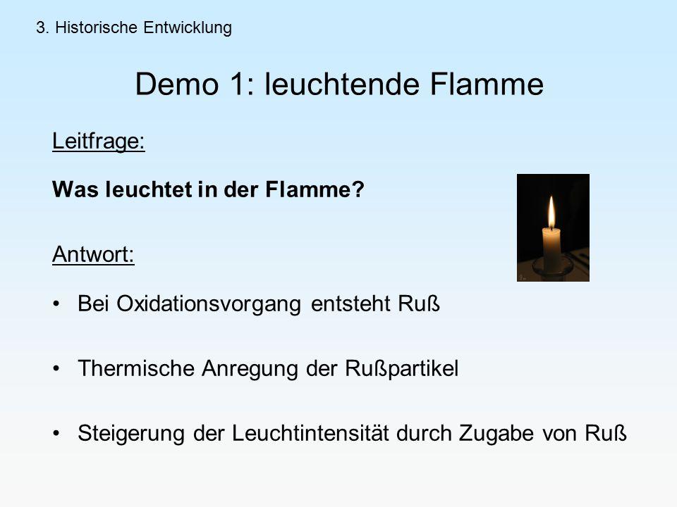 Demo 1: leuchtende Flamme
