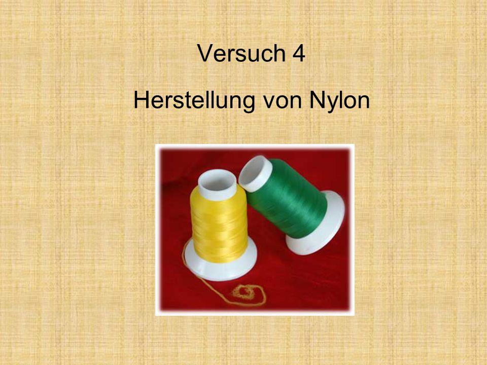 Versuch 4 Herstellung von Nylon