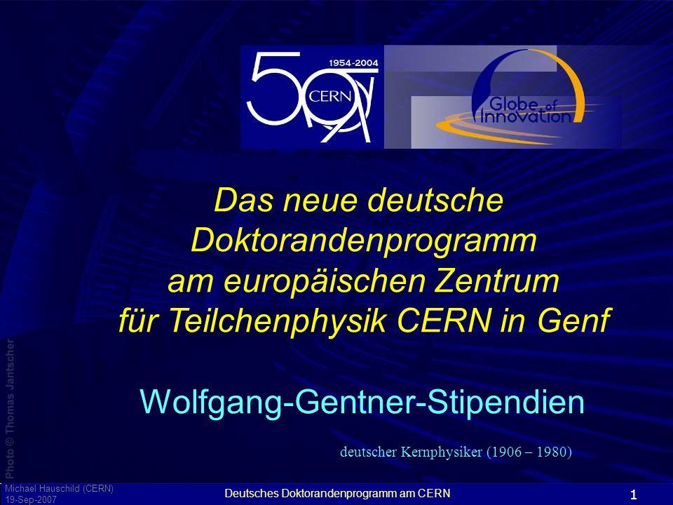 am europäischen Zentrum für Teilchenphysik CERN in Genf