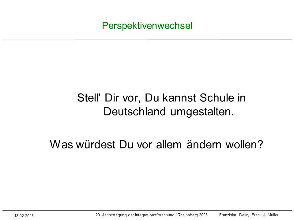 Stell Dir vor, Du kannst Schule in Deutschland umgestalten.