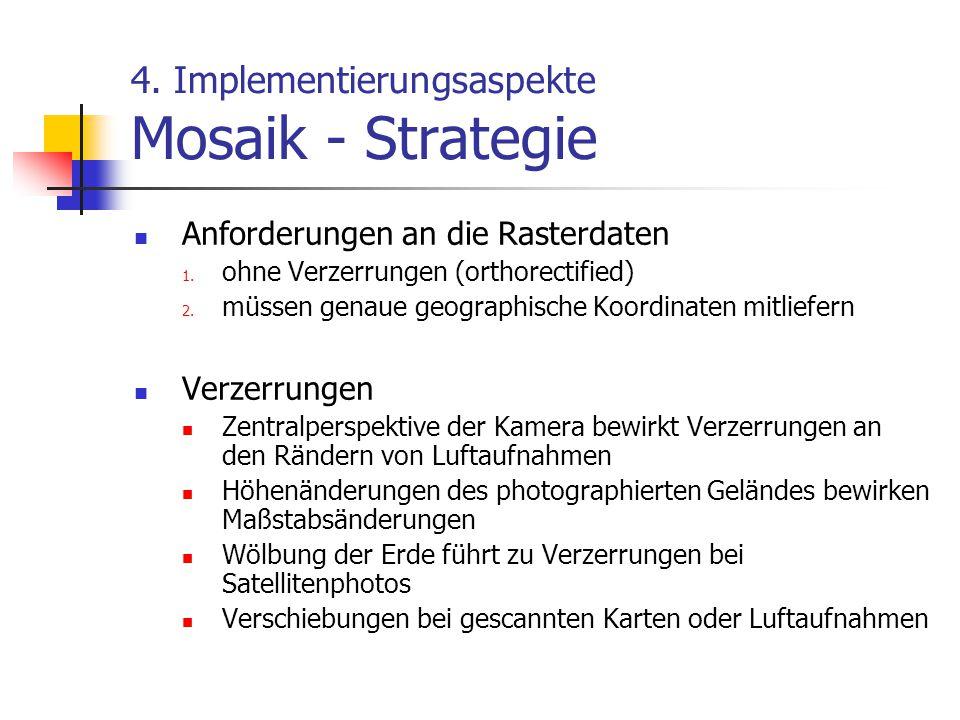 4. Implementierungsaspekte Mosaik - Strategie