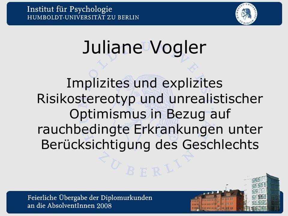 Juliane Vogler