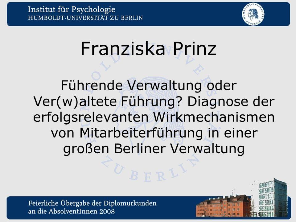 Franziska Prinz