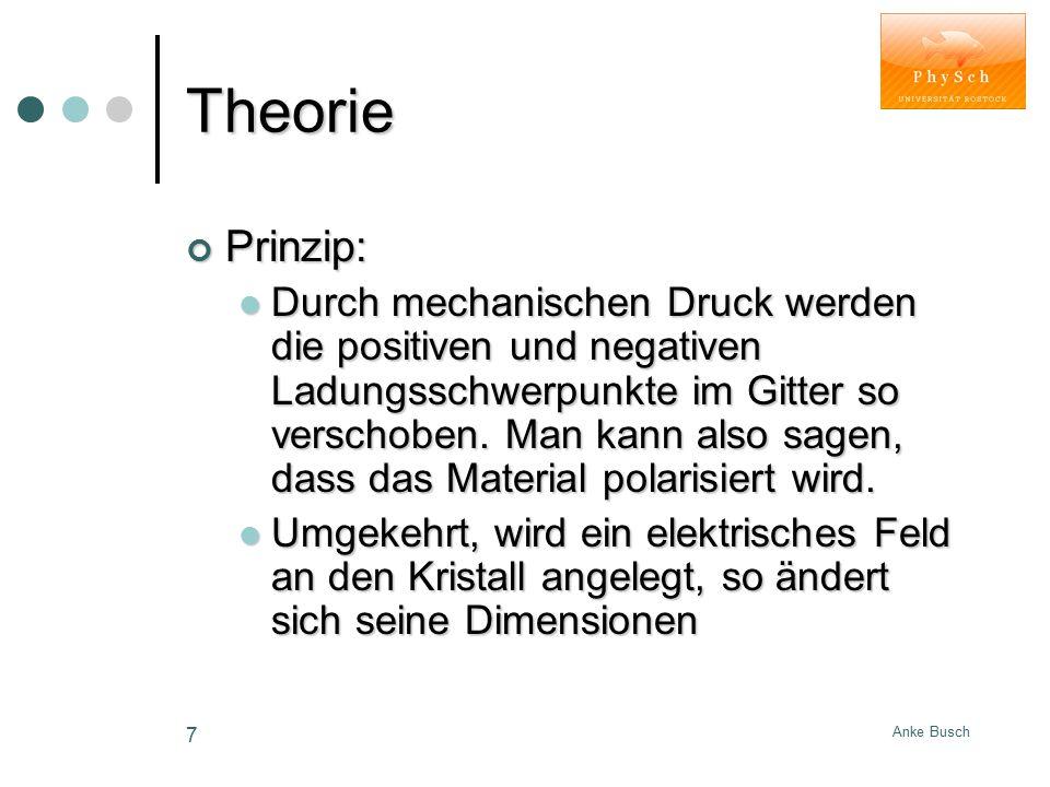 Theorie Prinzip:
