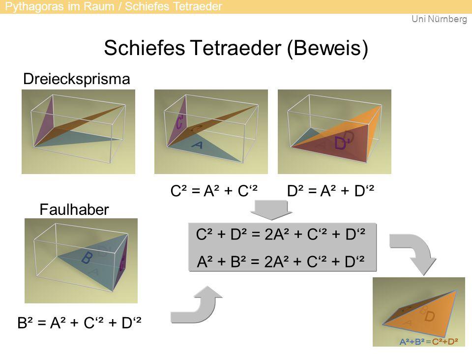 Schiefes Tetraeder (Beweis)