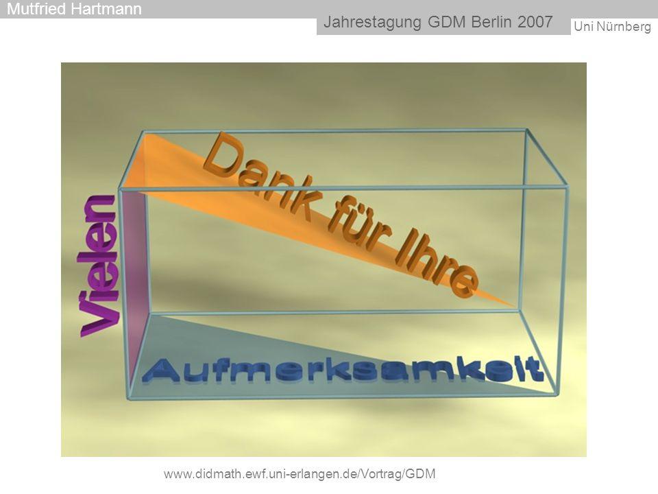 Jahrestagung GDM Berlin 2007