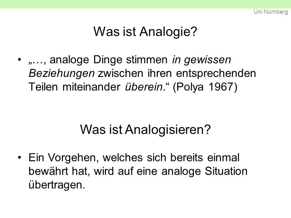 Was ist Analogie Was ist Analogisieren