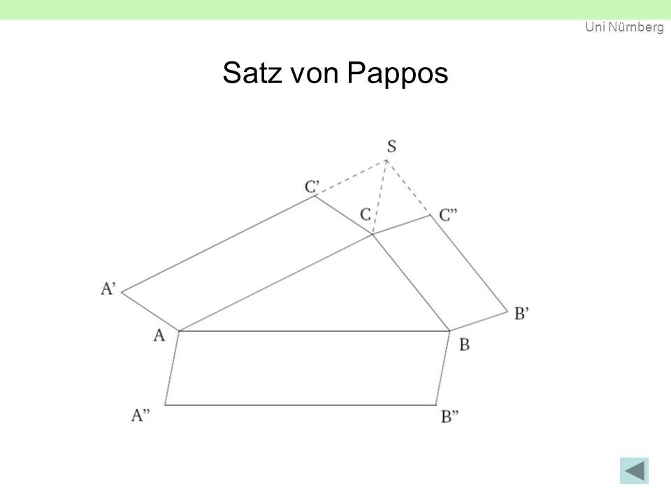 Satz von Pappos