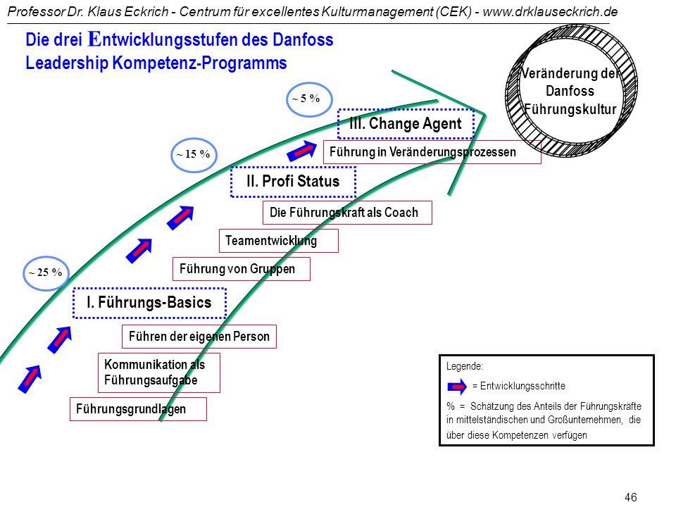 Veränderung der Danfoss Führungskultur
