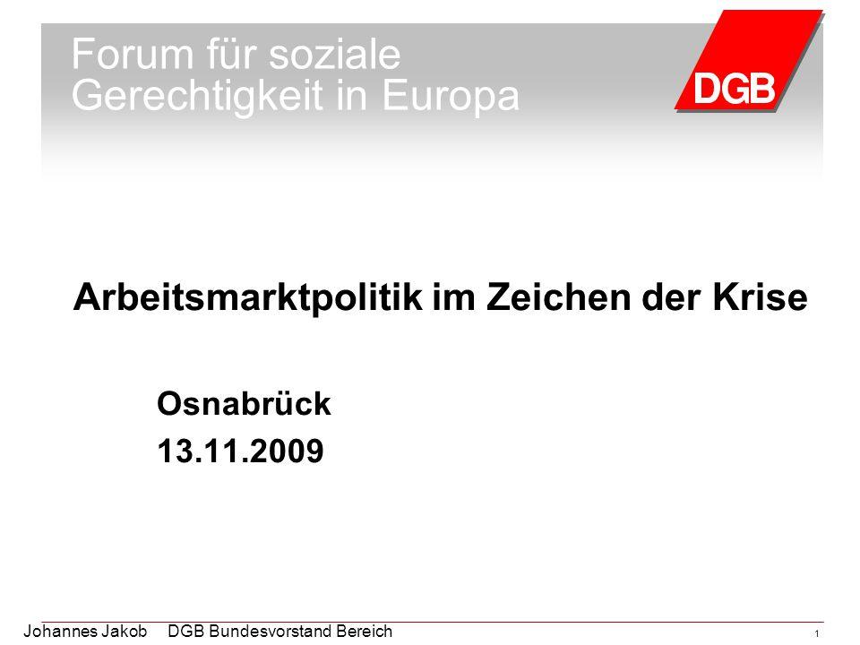 Forum für soziale Gerechtigkeit in Europa