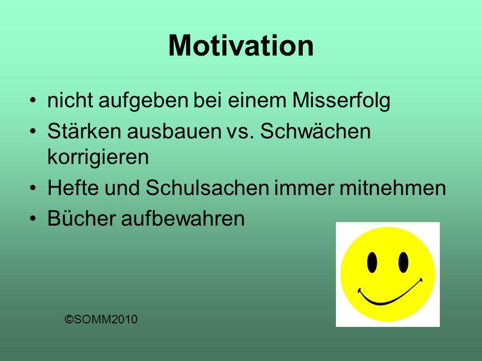 Motivation nicht aufgeben bei einem Misserfolg