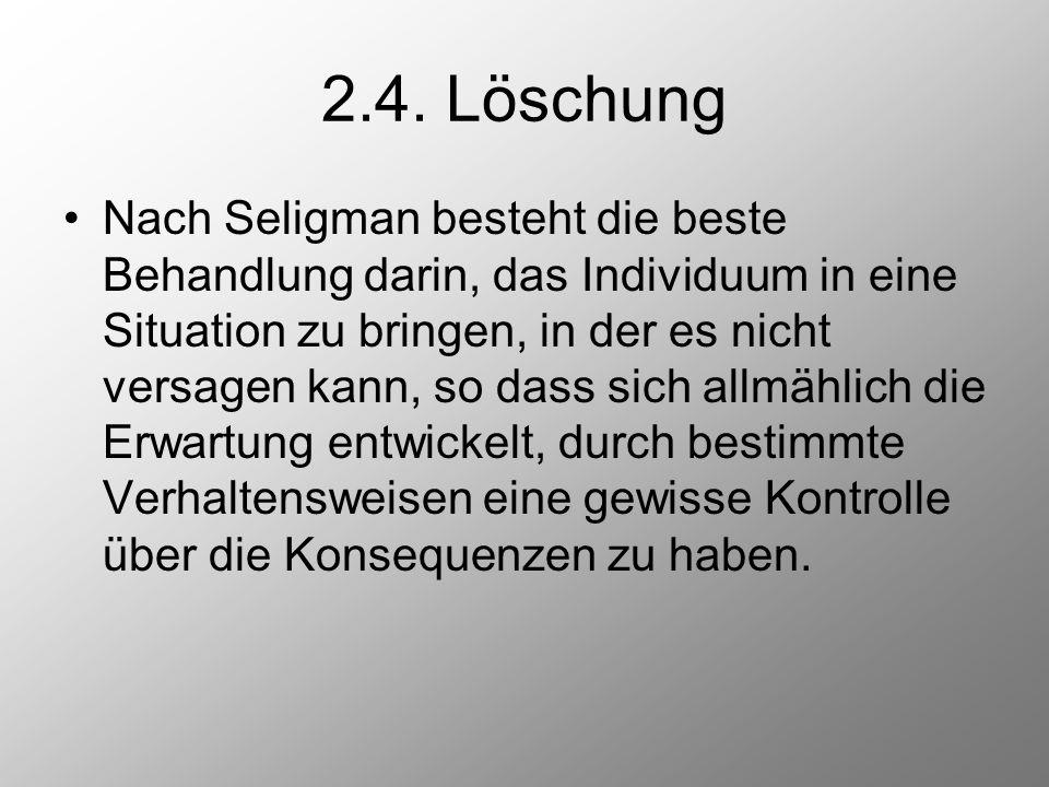 2.4. Löschung