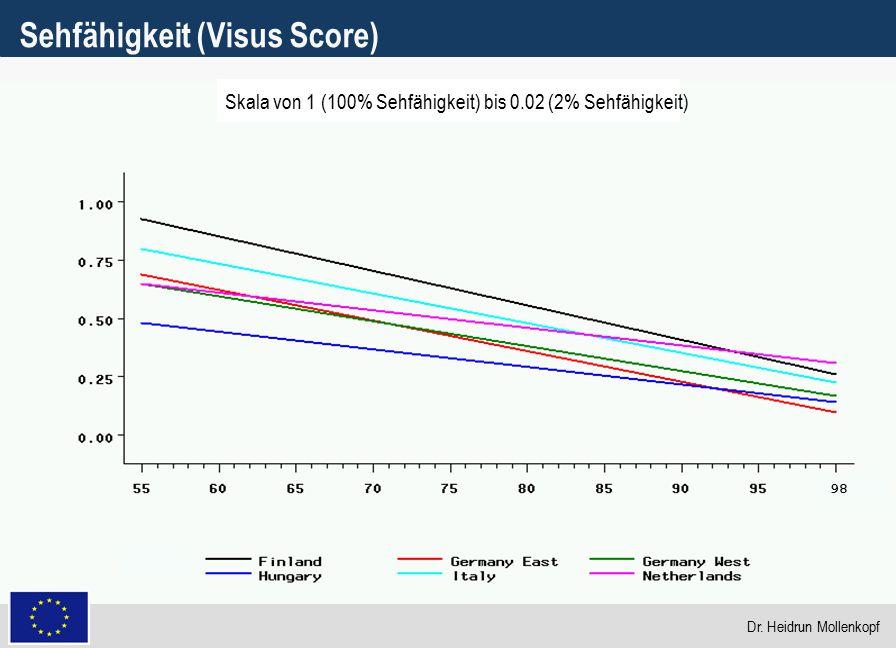 Sehfähigkeit (Visus Score)