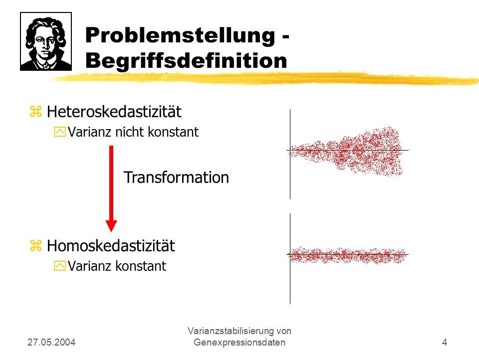 Problemstellung - Begriffsdefinition