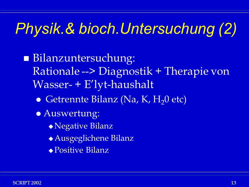 Physik.& bioch.Untersuchung (2)