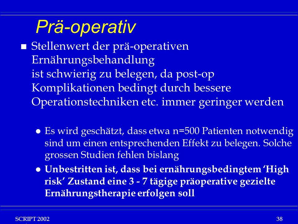 Prä-operativ