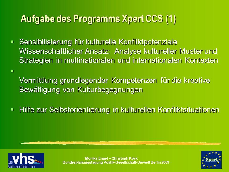 Aufgabe des Programms Xpert CCS (1)