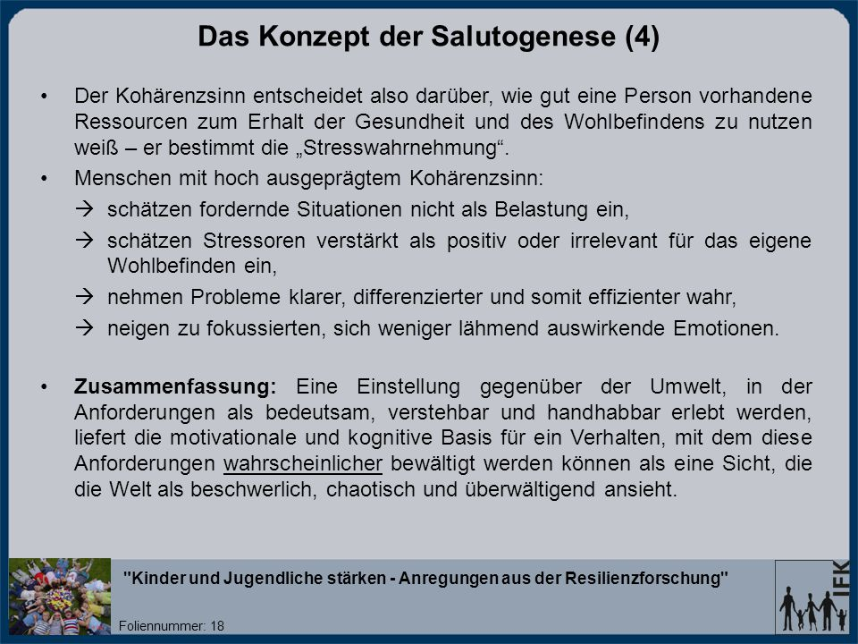 Das Konzept der Salutogenese (4)