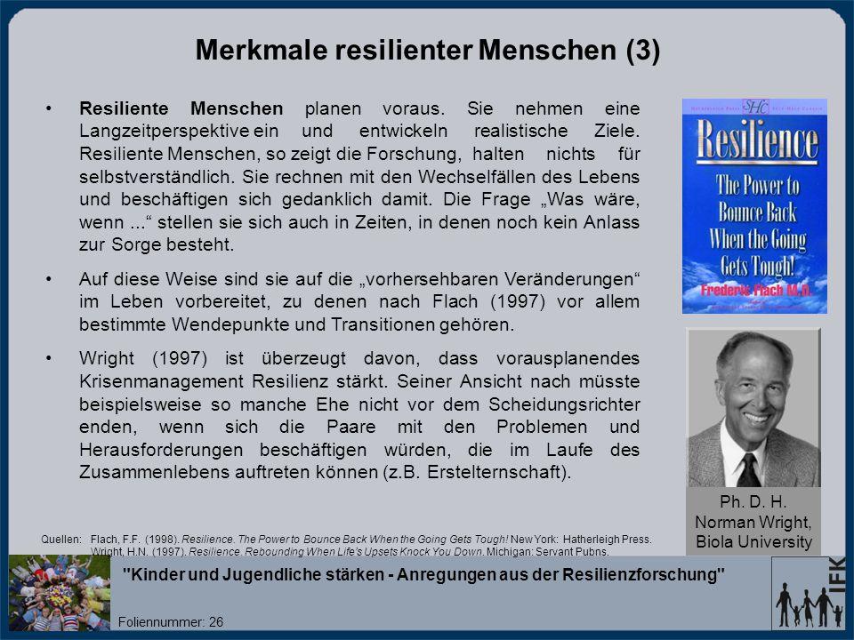 Merkmale resilienter Menschen (3)