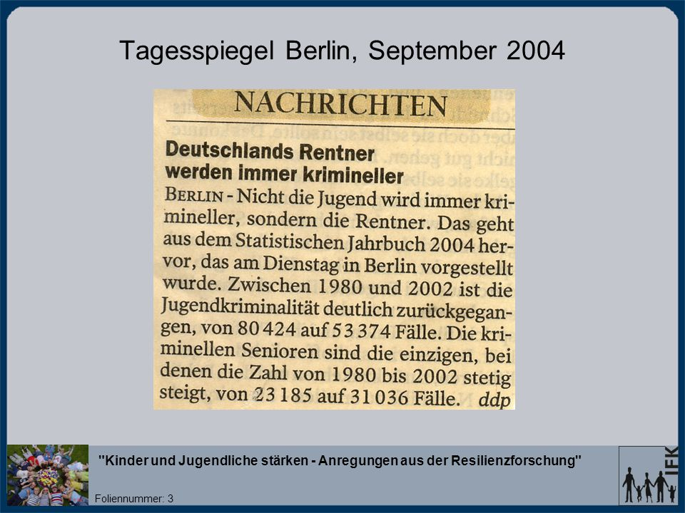 Tagesspiegel Berlin, September 2004