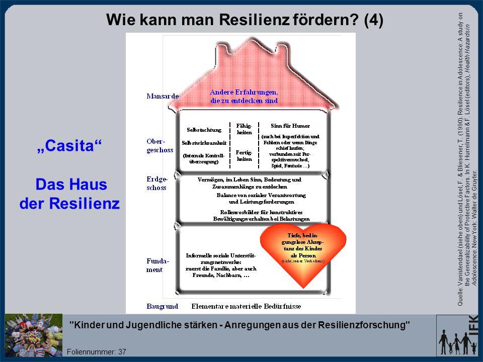 Wie kann man Resilienz fördern (4)